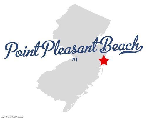 Point Pleasant Beach Map